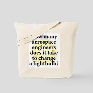 Aerospace Engineer Tote Bag