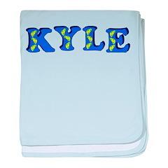 Kyle baby blanket