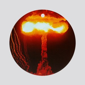 Climax Nuclear Test Ornament (Round)