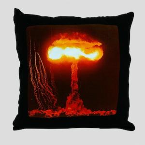 Climax Nuclear Test Throw Pillow