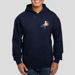 Seagull & Crab Hoodie (dark)