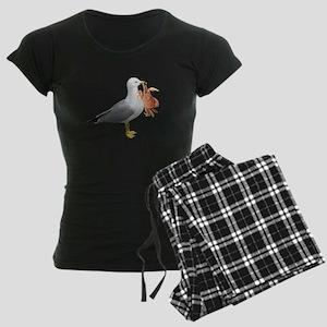 Seagull & Crab Women's Dark Pajamas