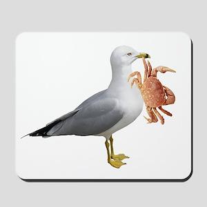 Seagull & Crab Mousepad
