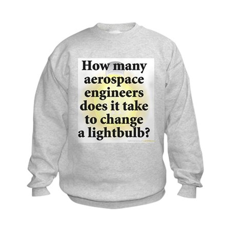 Aerospace Engineer Kids Sweatshirt