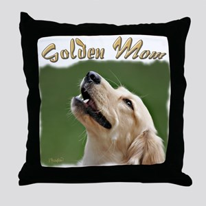 Golden Mom Throw Pillow