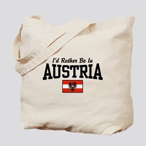 I'd Rather Be In Austria Tote Bag