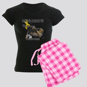 Navy What Does Your Daughter Wear Women's Dark Paj