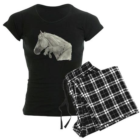 Silver Galtee Women's Dark Pajamas