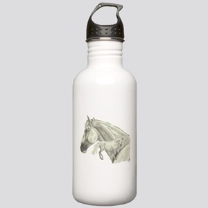 Silver Galtee Stainless Water Bottle 1.0L