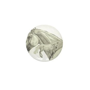 Silver Galtee Mini Button (100 pack)