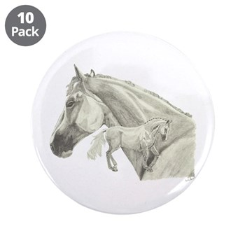 "Silver Galtee 3.5"" Button (10 pack)"