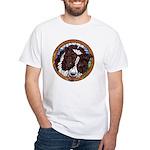 Mac's Redhead White T-Shirt