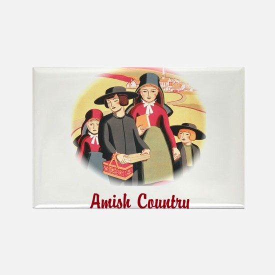 Amish Country Rectangle Magnet