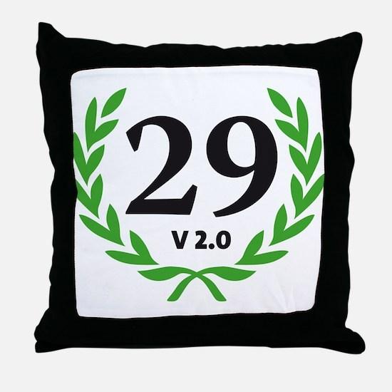 Unique Sexy 40 Throw Pillow