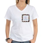Vote for CDH Women's V-Neck T-Shirt
