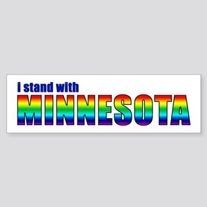 Stand With MN - Sticker (Bumper)