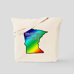 Minnesota Rainbow - Tote Bag