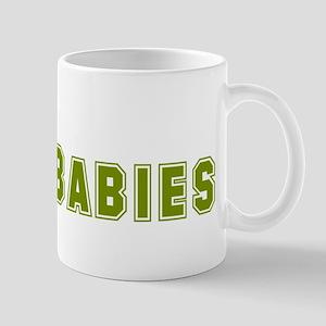 Real Men Wear Babies Mug