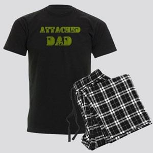 Attached Dad Men's Dark Pajamas