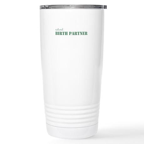 Natural Birth Partner Stainless Steel Travel Mug