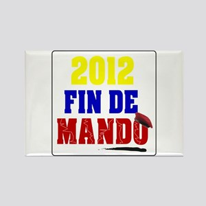 Fin de Mando 2012 Rectangle Magnet