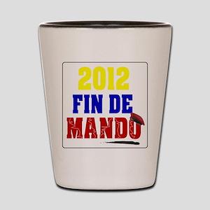 Fin de Mando 2012 Shot Glass