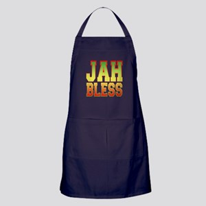 Jah Bless Apron (dark)