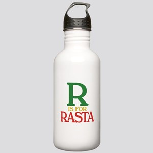 R is for Rasta Stainless Water Bottle 1.0L