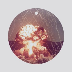 Met Nuclear Test Ornament (Round)