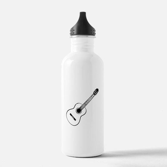 Acoustic Guitar Water Bottle