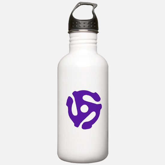 Record Insert Water Bottle