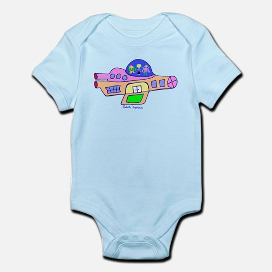 Superheroes in Ship Clothing Infant Bodysuit