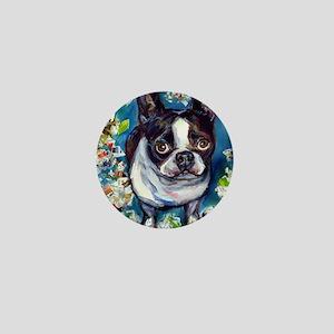 Boston Terrier shredder misch Mini Button