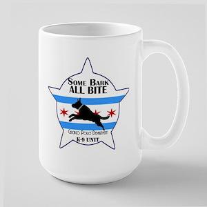 Some Bark ALL BITE Large Mug