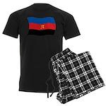 Polyamory Flag Men's Dark Pajamas