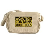 Caution: Contains Multitudes Messenger Bag
