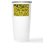 Caution: Contains Multitudes Travel Mug