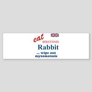 The Bunny Bumper Sticker