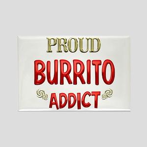 Burrito Addict Rectangle Magnet