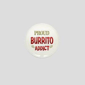 Burrito Addict Mini Button