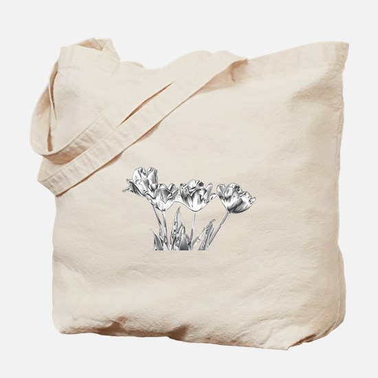 Chrome Tulip Tote Bag