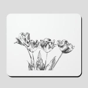 Chrome Tulip Mousepad