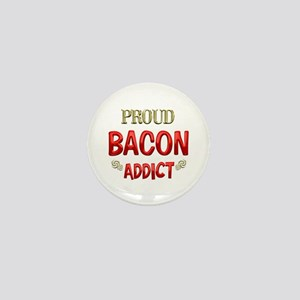 Bacon Addict Mini Button