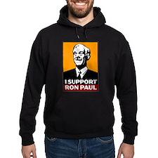 I Support Ron Paul 2 Hoodie (dark)