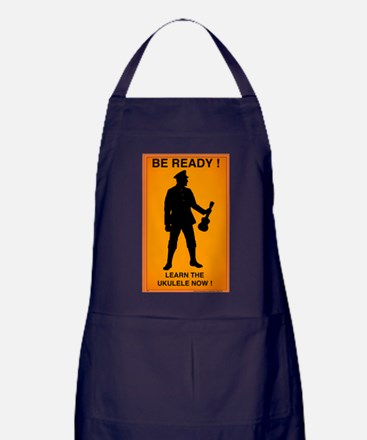 Unique Ukelele Apron (dark)