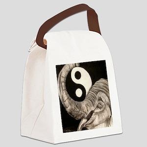 Elephant peace Canvas Lunch Bag