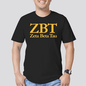 Zeta Beta Tau Fraterni Men's Fitted T-Shirt (dark)