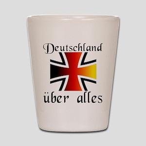 Deutschland uber alles Shot Glass