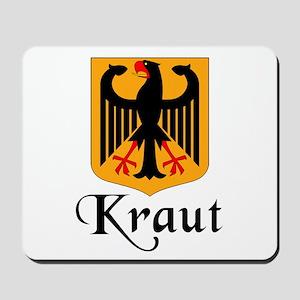 Kraut with Crest Mousepad