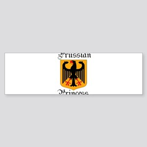 Prussian Princess Sticker (Bumper)